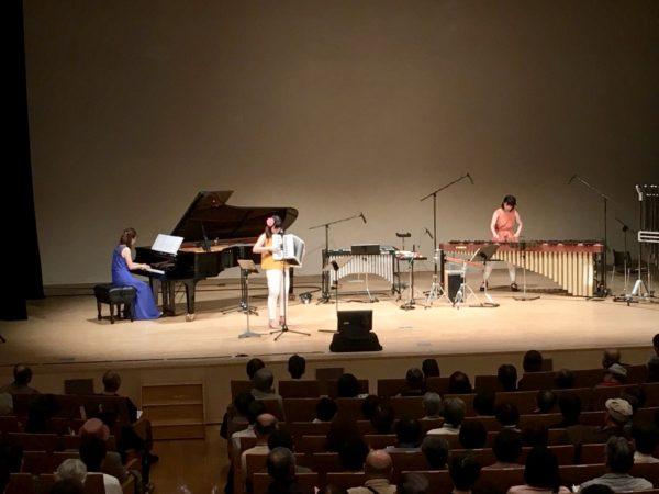 マリンバ・アコーディオン・ピアノのトリオ
