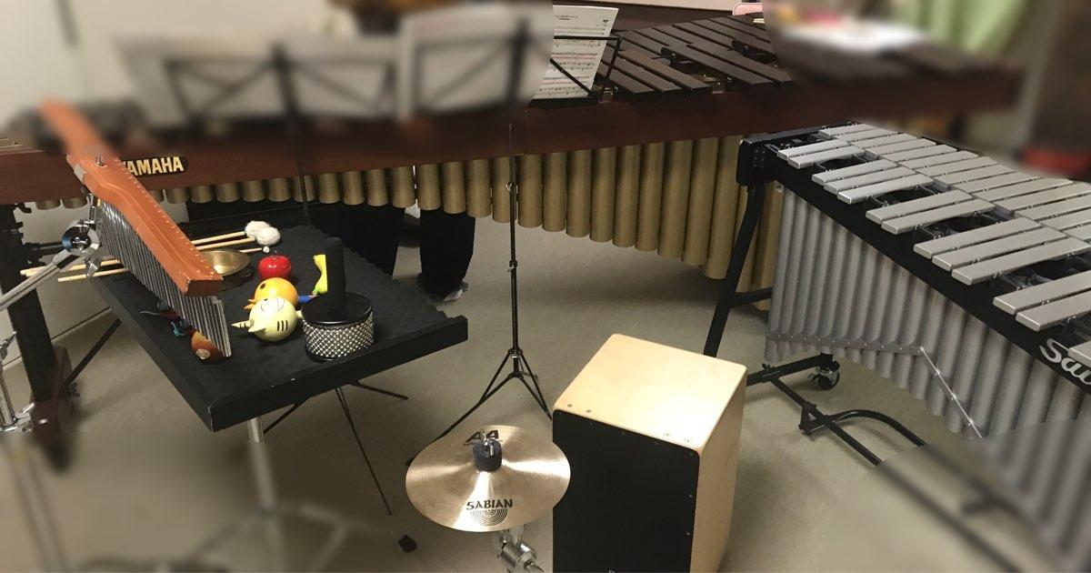種類豊かな打楽器