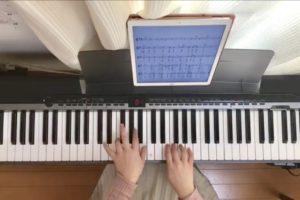 鍵盤が丸見え