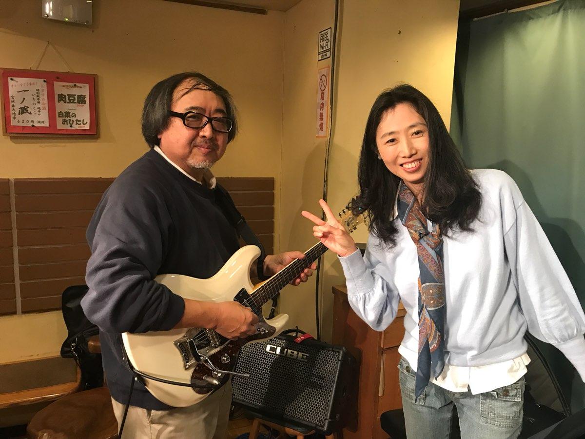 ギターの中谷さんとピアノの長嶋さん