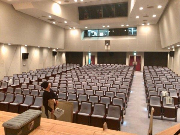 板橋区立文化会館小ホール客席
