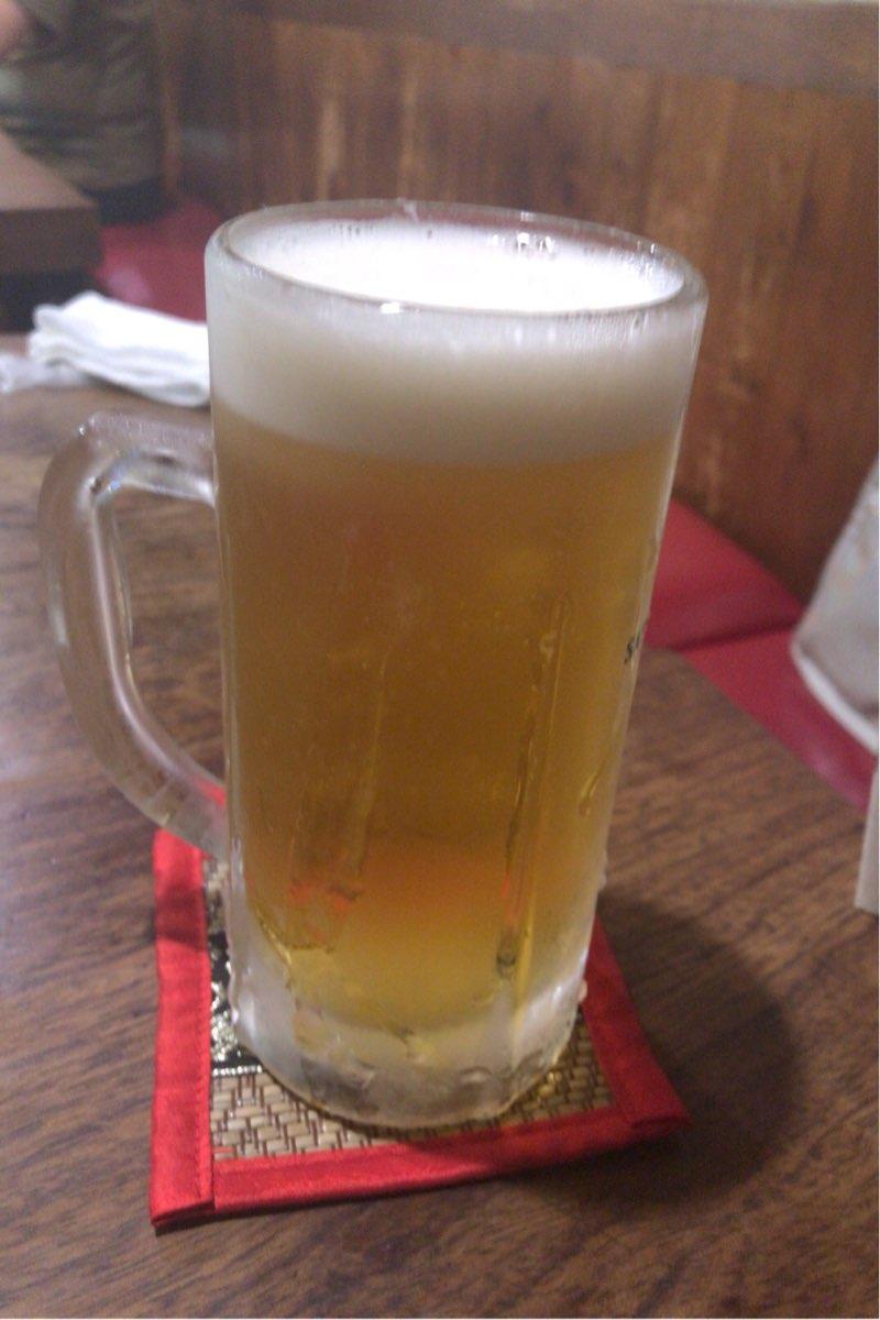 家路の生ビール