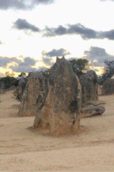 サンセットピナクルズトトロ岩