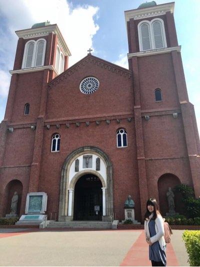 浦上天主堂(浦上教会)の正面