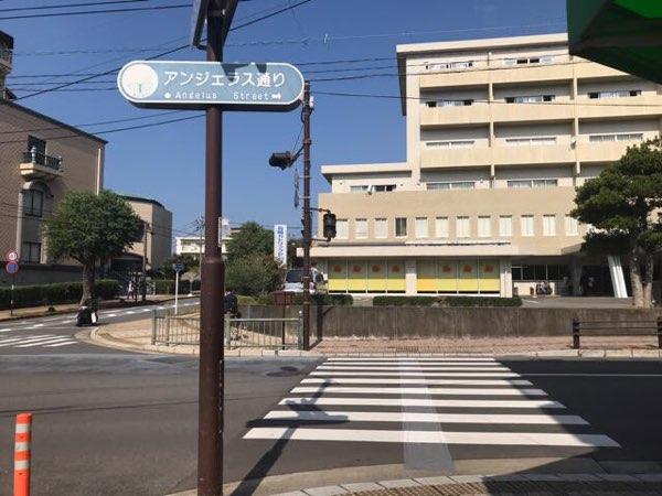 アンジェラス通りは浦上天主堂(浦上教会)の側にある道